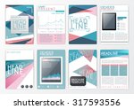 a4 abstract background design ... | Shutterstock .eps vector #317593556