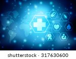 abstract medical background   Shutterstock . vector #317630600