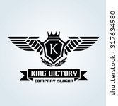 luxury vintage  crests logo...   Shutterstock .eps vector #317634980