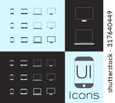 user interface devices icons....