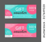 gift vouchers design template ...   Shutterstock .eps vector #317649320