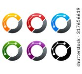 letter o logo icon vector design | Shutterstock .eps vector #317656619