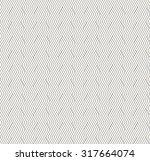 seamless monochrome striped...   Shutterstock .eps vector #317664074