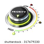 priority switch button... | Shutterstock . vector #317679230