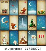 Set Of  Christmas Illustration...