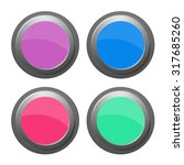 buttons vector illustration | Shutterstock .eps vector #317685260
