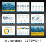 presentation templates and... | Shutterstock .eps vector #317694344
