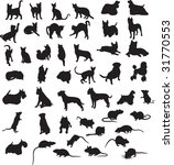 animals vectors vol_3 | Shutterstock .eps vector #31770553