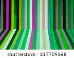 corner of stripy floor and wall.... | Shutterstock . vector #317709368
