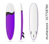 vector blank purple soft top...   Shutterstock .eps vector #317728784