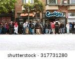 san francisco  ca   may 15   a... | Shutterstock . vector #317731280