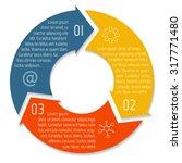 vector round infographic...   Shutterstock .eps vector #317771480