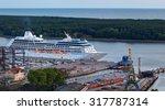klaipeda  lithuania   17 july... | Shutterstock . vector #317787314