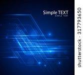 vector illustration abstract... | Shutterstock .eps vector #317793650