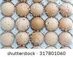 Eggs Under Water Drops...