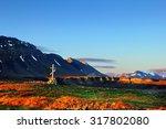 beautiful scenic view  russian...   Shutterstock . vector #317802080