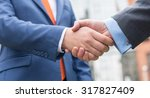 business confidence. close up... | Shutterstock . vector #317827409
