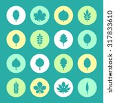 vector illustration  set of... | Shutterstock .eps vector #317833610