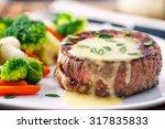 fillet of beef with b       ... | Shutterstock . vector #317835833
