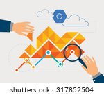 data analysis   Shutterstock .eps vector #317852504