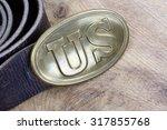 us belt buckle civil war period ... | Shutterstock . vector #317855768