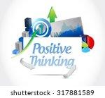 positive thinking business...   Shutterstock . vector #317881589