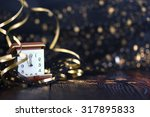 happy new year 2018 | Shutterstock . vector #317895833
