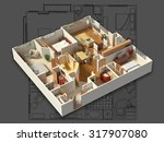 3d Isometric Rendering Of A...