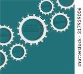 gears   illustration | Shutterstock .eps vector #317939006