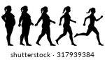 eps8 editable vector silhouette ... | Shutterstock .eps vector #317939384