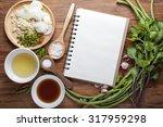 vegetable background  recipes.   Shutterstock . vector #317959298