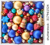 Colorful Christmas Baubles For...