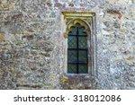 Window On An Old English Church