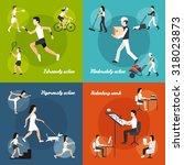 physical activity design... | Shutterstock . vector #318023873