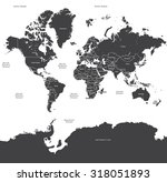 world map countries vector | Shutterstock .eps vector #318051893
