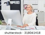 Senior Businesswoman At Work I...