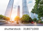 the century avenue of street... | Shutterstock . vector #318071000