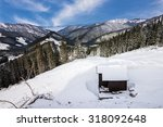 Winter Mountain Landscape ...
