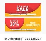 creative website header or...   Shutterstock .eps vector #318135224