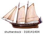 Antique Model Sailing Ship...