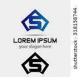 letter s logo icon design...   Shutterstock .eps vector #318158744