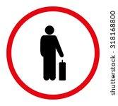 passenger vector icon. this...   Shutterstock .eps vector #318168800