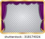Vector Stage With Purple...