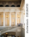 Small photo of SAINT PETERSBURG, RUSSIA - SEP 18, 2015: Interior of the State Russian Museum (the Russian Museum of His Imperial Majesty Alexander III) .