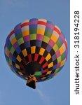 hot air balloon   Shutterstock . vector #318194228