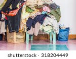 abstract the basket with not... | Shutterstock . vector #318204449