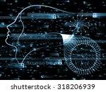 human tangents series.... | Shutterstock . vector #318206939