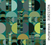 vector seamless abstract... | Shutterstock .eps vector #318211256