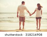 Happy Romantic Young Couple...