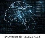 human tangents series.... | Shutterstock . vector #318237116